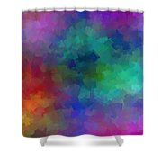 Matter And Space Shower Curtain