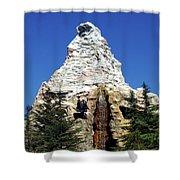 Matterhorn Disneyland Shower Curtain