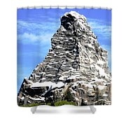 Matterhorn Peak Shower Curtain