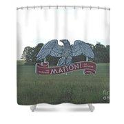 Mattoni Shower Curtain