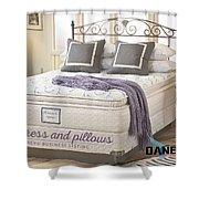 Mattress And Pillows Shower Curtain