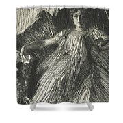 Maud Cassel Shower Curtain