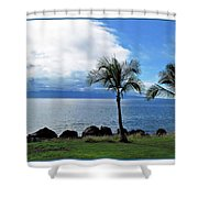 Maui Clouds Shower Curtain