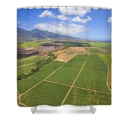 Maui Farmland Shower Curtain
