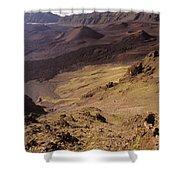 Maui, Haleakala Crater Shower Curtain