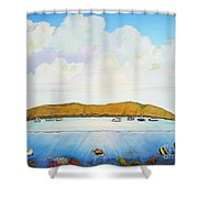 Maui Molokini Magic Shower Curtain