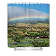 Maui Rainbow Shower Curtain