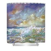 Maui Riptide Shower Curtain