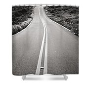 Maui Road Shower Curtain
