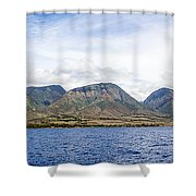Maui - View From The Boat Shower Curtain