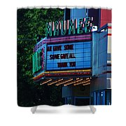 Maumee Movie Theater I Shower Curtain