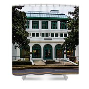 Maurice Bath House - Hot Springs, Arkansas Shower Curtain