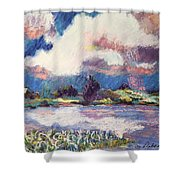 Maurice River Heaven's Delight Shower Curtain