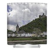 Maus Castle 14 Shower Curtain