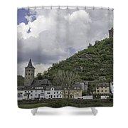 Maus Castle 15 Shower Curtain