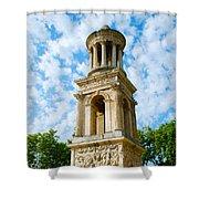 Mausoleum Of The Julii - Glanum Roman Ruins Shower Curtain