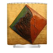 Mavis - Tile Shower Curtain