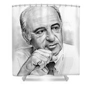 Max Heller Shower Curtain