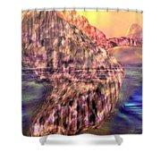 Maxfield Morning Shower Curtain