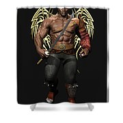 Maximus The Vampire Slayer 01 Shower Curtain