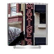 Maxine's Saloon Shower Curtain