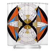 May-bee Shower Curtain