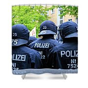 May Day Berlin 2017 Shower Curtain