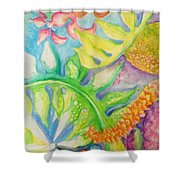 May Day Is Lei Day Shower Curtain