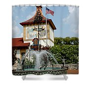 May Day Summer Celebration Shower Curtain