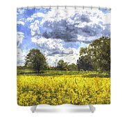 May Farm Art Shower Curtain