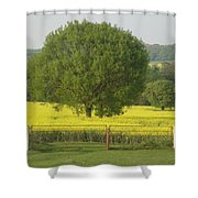 May Fields Shower Curtain