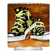 May I Converse With You Shower Curtain