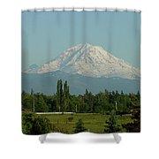 May Mt. Rainier Shower Curtain