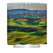 May On The Palouse  Shower Curtain