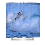 May Tagged Shower Curtain