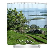 May The Road Rise To Meet You Shower Curtain