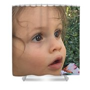 Maya Pearl Shower Curtain