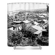 Mayaguez - Puerto Rico - C 1900 Shower Curtain