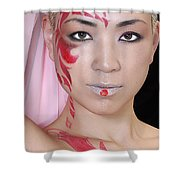 Mayan Shower Curtain