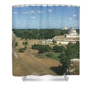 Mayan Observatory, Mexico Shower Curtain