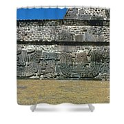 Mayan Pyramid, C450 A.d Shower Curtain