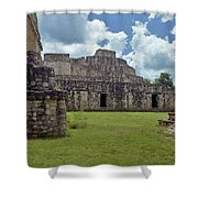 Mayan Ruins 3 Shower Curtain