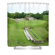 Mayan World Shower Curtain