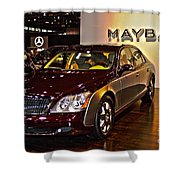Maybach Limo Shower Curtain