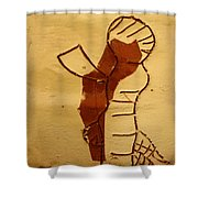Maybe Baby Two I - Tile Shower Curtain