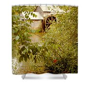 Mabry Mill 3 Shower Curtain