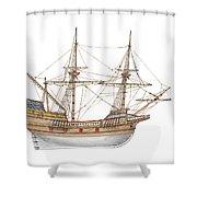 Mayflower Shower Curtain