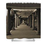 Maymont's Italian Garden Shower Curtain