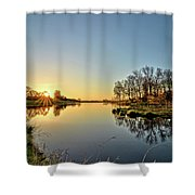 Maynes Grove Spring Rise 2 Shower Curtain