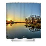 Maynes Grove Spring Rise Shower Curtain